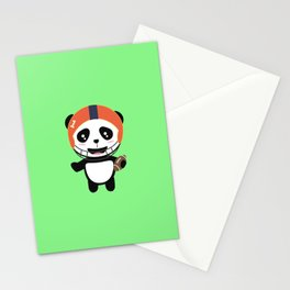 Football Panda with ball T-Shirt D9w5x Stationery Cards