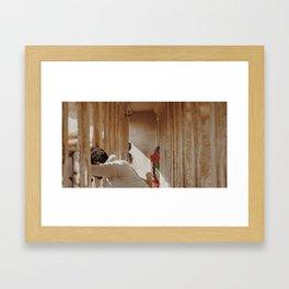 Hall of Light Framed Art Print