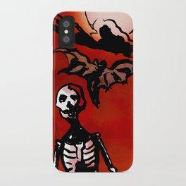 Wandering Skull iPhone Case