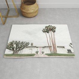 That Pink Door House Palm Springs,California Rug