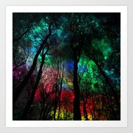 blissful forest Art Print