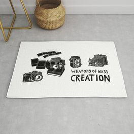 Weapons Of Mass Creation - Photography (clean) Rug
