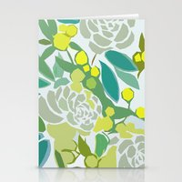 floral pattern Stationery Cards featuring floral pattern by frameless