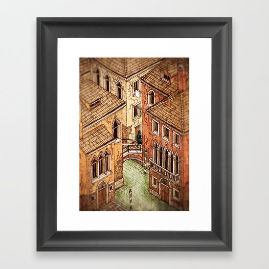 One day in Venice Framed Art Print