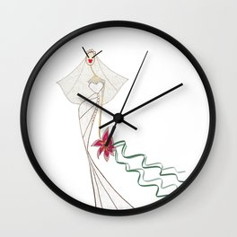 A SPECIAL DAY Wall Clock