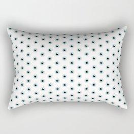 Dot the Eyes Rectangular Pillow