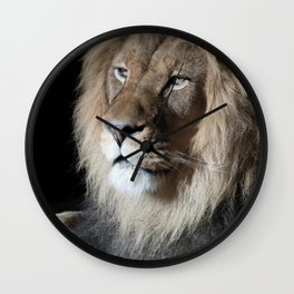 Portrait of a King Wall Clock