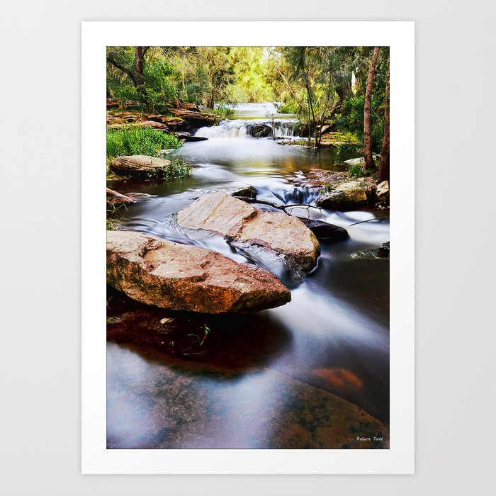 the River Still Art Print