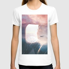 In the plane T-shirt