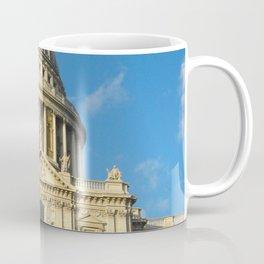 St Pauls Cathedral Blue Sky Sunny Day  Coffee Mug