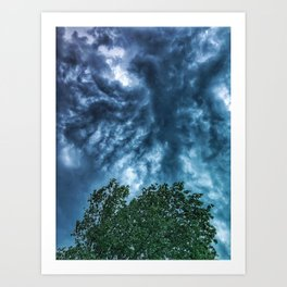 Rolling Clouds 1 Art Print