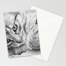 Cat Kitten Dawing Stationery Cards