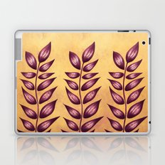 Abstract Plant With Purple Leaves Laptop & iPad Skin