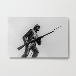 Forward Metal Print