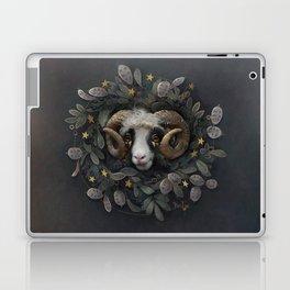 Lunaria star wreath Laptop & iPad Skin