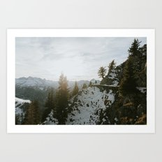 Taking in the view - Landscape Photography Art Print