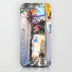 Tiffany Glass Style Greece Street iPhone 6s Slim Case