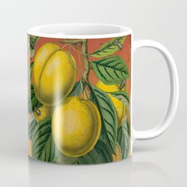 Plums with Bugs Coffee Mug