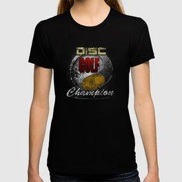 Disc Golf Champion Distressed T-shirt