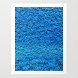 Blue Sky Paint Art Print