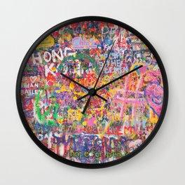 Hope of Peace Wall Clock