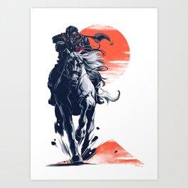 Demon Rider Art Print