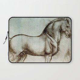 """Leonardo da Vinci """"Gran Cavallo"""" Laptop Sleeve"""