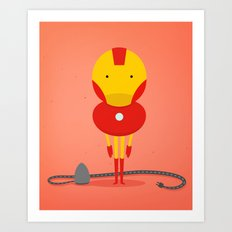 My ironing Hero! Art Print