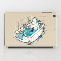 bath iPad Cases featuring BATH TIME by Letter_q