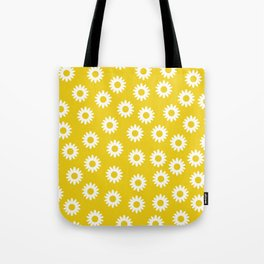 Daisies - Yellow BG Tote Bag