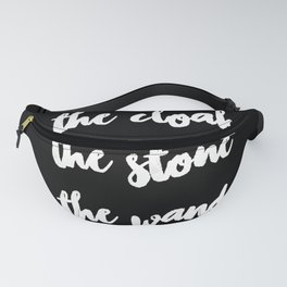 The Cloak The Stone The Wand Fanny Pack
