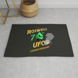 70th Anniversary Commemorative Graphic Rug