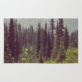 Faraway - Wilderness Nature Photography Rug