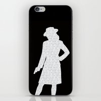 peggy carter iPhone & iPod Skins featuring Agent Carter by Kaitlin Andesign