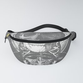 Drop Zone B&W old poster Fanny Pack