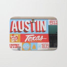 Austin, TX Bath Mat