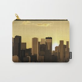 Sunrise-sunset city panorama Carry-All Pouch