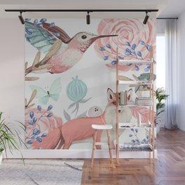 Vintage spring Wall Mural