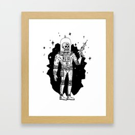 Intergalactic Bone Man Framed Art Print