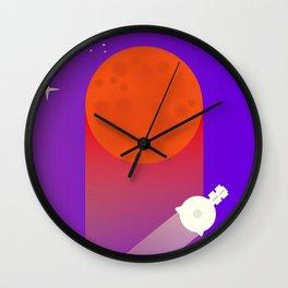 New Horizons Pluto Grand Flypast Wall Clock