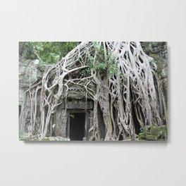 Wild Cambodia Metal Print