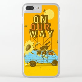 ON OUR WAY Clear iPhone Case