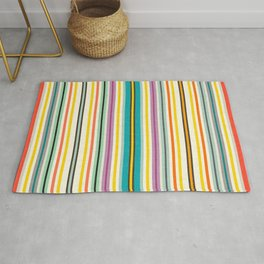 retro stripe Rug