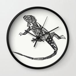 Iguana Iguana Wall Clock