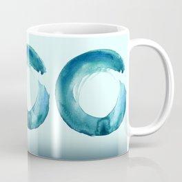 Serenity Enso No. 1 by Kathy Morton Stanion Coffee Mug