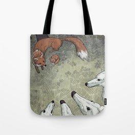 Fox Hunt Tote Bag