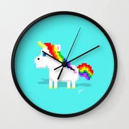 Sassy Unicorn Wall Clock