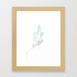 paper_10 Framed Art Print