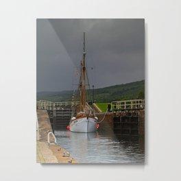 Caledonian Canal Metal Print