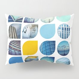 Cold Comfort Collage — The Blues Pillow Sham